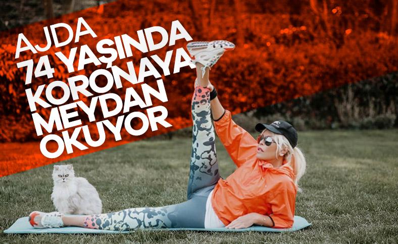 Ajda Pekkan'dan spor paylaşımı