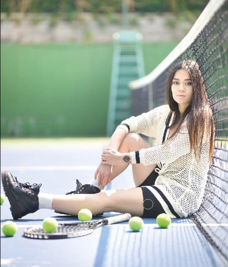 Ünlü oyuncu Aylin Engör ödüllü bir tenisçiymiş
